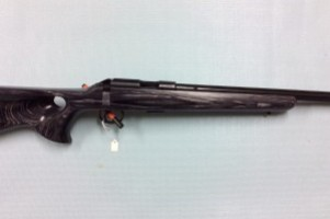 CZ .22LR 455 Thumbhole Grey Rifle Image