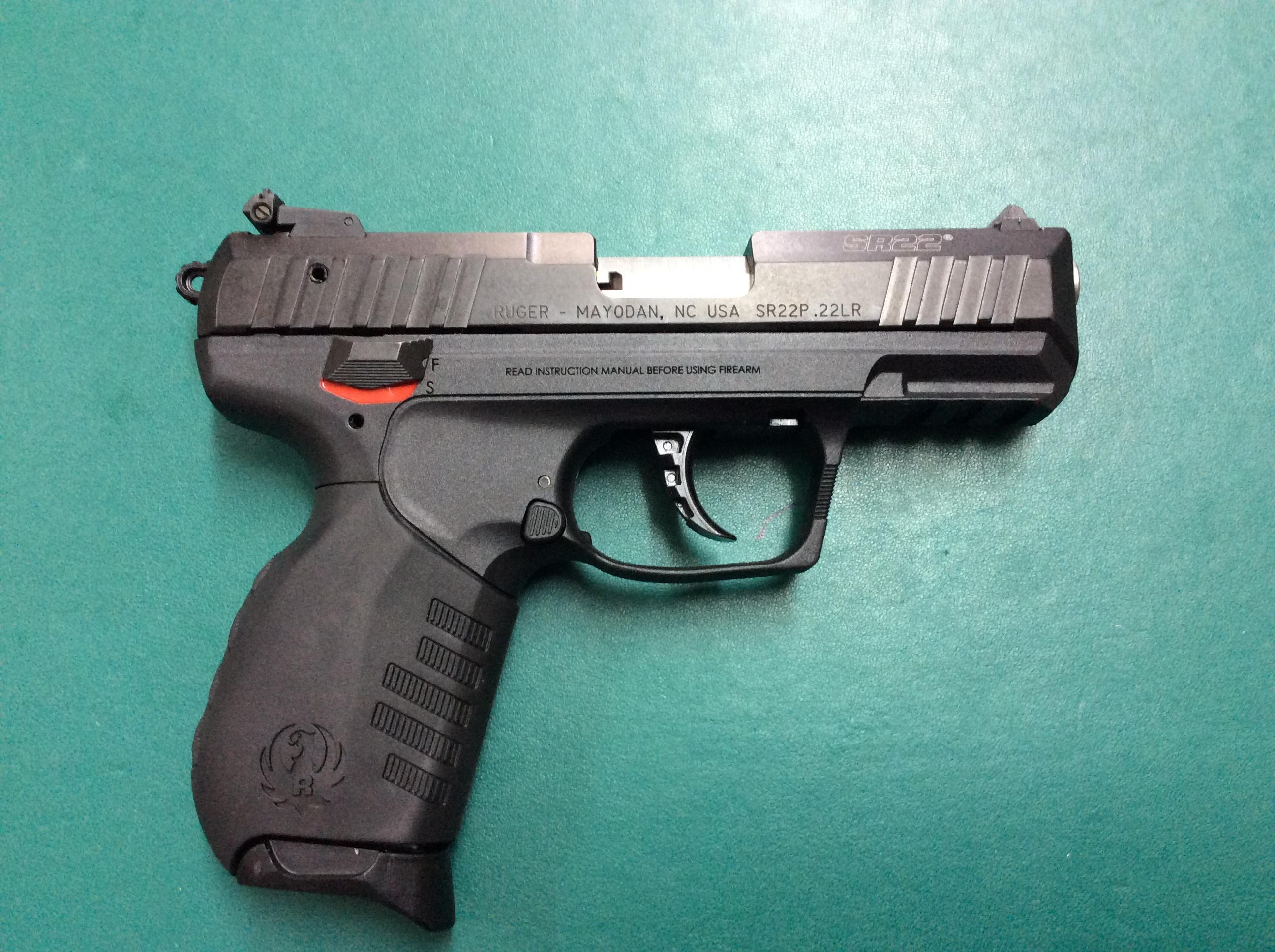 Ruger Sr22 22lr Pistol