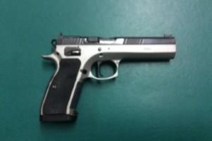 CZ 75 IPSC .40 S&W Tactical Sport Pistol Image