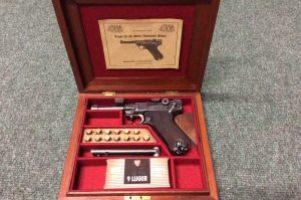 Luger 9mm Pistol Image