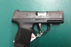 Sig 9mm Pistol Image