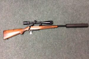 CZ 22/250 Rifle Image