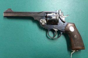 Wilkinson Webley .455 Revolver Image