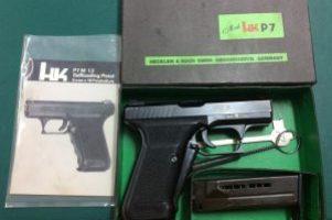 H&K P7 9mm Pistol Image