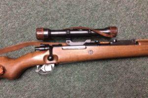 German  Mauser  K98 Sniper Rifle .308 Image