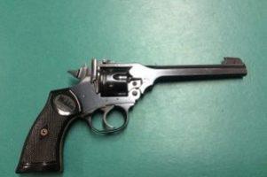 Webley .22 MK4 Revolver Image