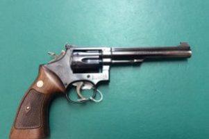 S&W model 17 .22lr Revolver Image