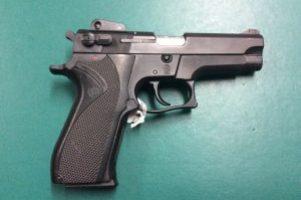 S&W 9mm Pistol Image