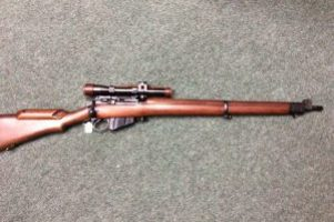 Lee Enfield No4 T .303 Rifle Image