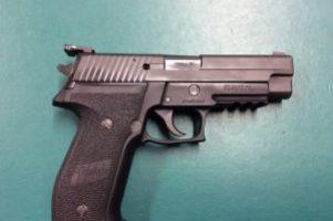 """Sig  9mm """"Navy"""" Pistol Image"""