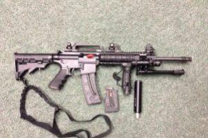 S&W M&P .22lr Rifle Image