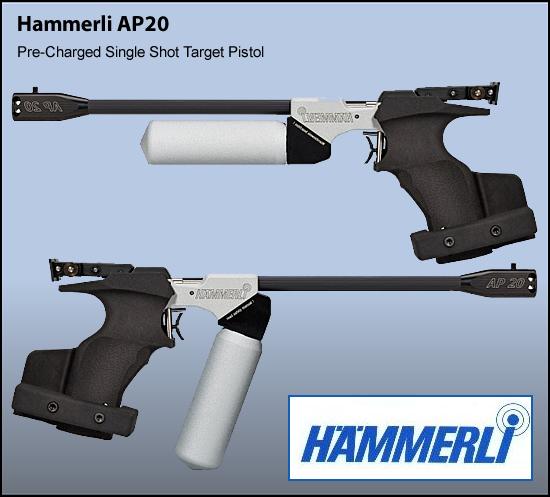 Hammerli AP20 Air pistol | Young Guns - Registered Firearms